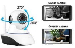 Камера для помещений поворотная с функцией сигнализации