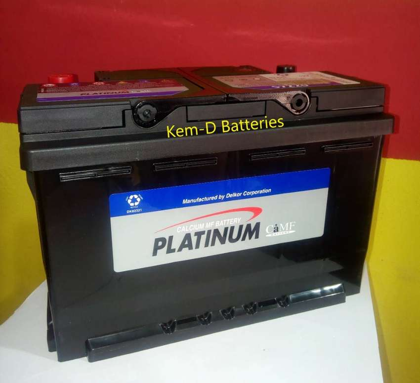 12 Volts platinum battery + Free home office delivery 0