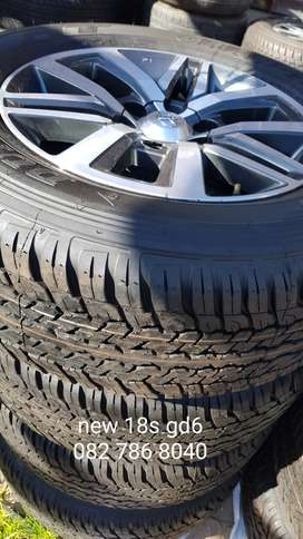 Toyota Hilux 2.8 gd6 wheels