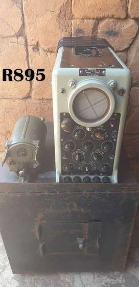 Antique Portable Oscillograph and Arial Tuning Unit