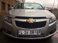 Image of 2011 Chevrolet Cruze 1.6 silver in color.