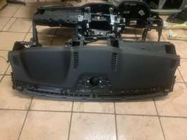Ford Ranger Wildtrak Dashboard with airbag