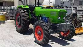 Deutz 7206 with auger