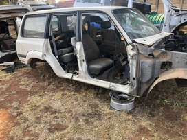 Toyota Landcruiser 80 series breaking for parts