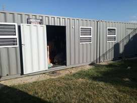 2 x 6metre Refurbished Shipping Containers for sale