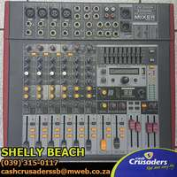 Image of 8CH 2X400 WATTS 4OHM USB/DSP Mixer Powered Amplifier