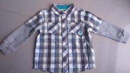Nowa koszula chłopięca Cool Club Baby rozmiar 80