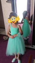 Платье выпускное детское