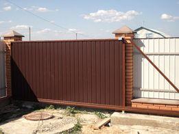 Ворота автоматические откатные , ворота гаражные , ворота распашные.