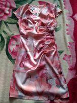 Летнее платье(атлас)
