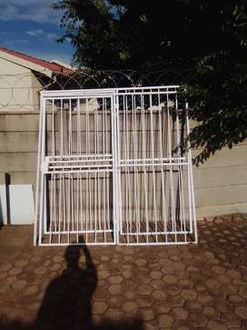 Double Steel Security gates