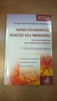 Tajniki finansowego sukcesu dla mikrofirm - Michalski, Prędkiewicz