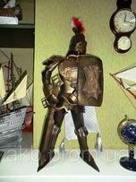 Статуи (фигурки) Рыцари 66 см, ручная работа