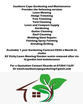 Southern cape Gardening and Maintenance
