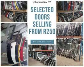 Doors for sale   Clearance sale on selected doors from R250