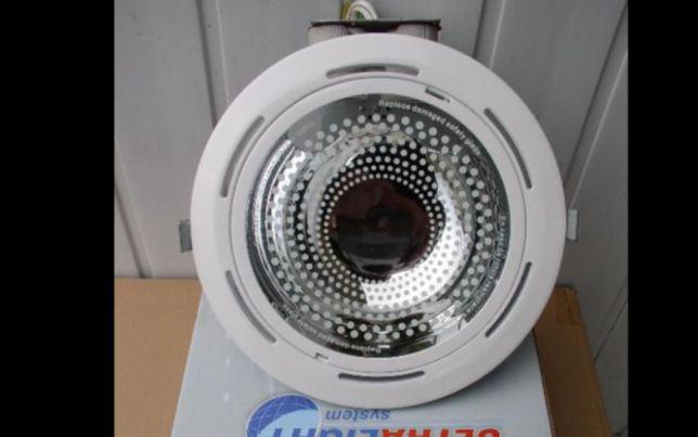 Лампа софит даунлайт потолочный на две лампы цоколь е27