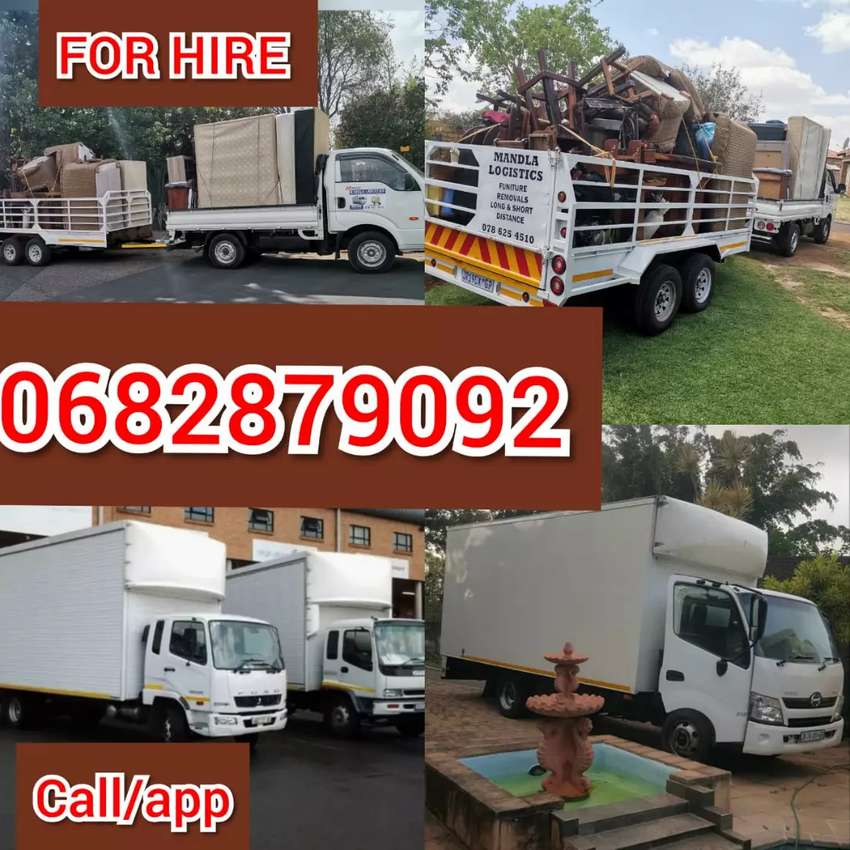 TRUCKS AND BAKKIE FOR HIRE 0