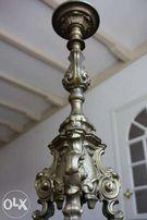 Подсвечник в стиле Рококо.Франция, XIX век. Бронза.