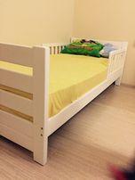Подростковая и детская кровать из массива бука Софи