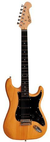 Gitara elektryczna EVER PLAY ST-2, SSH, natural OKAZJA cenowa GRATIS!! Rybnik - image 2