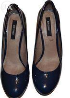 Туфли женские летние, стильные, лаковые BRONX