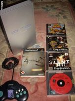 Future Cop PS1 PSX 4 Resident Evil - Konsola PS2 gry + pady