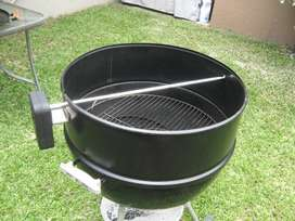 New Weber extension and spit