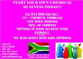 Start your own business for R20000
