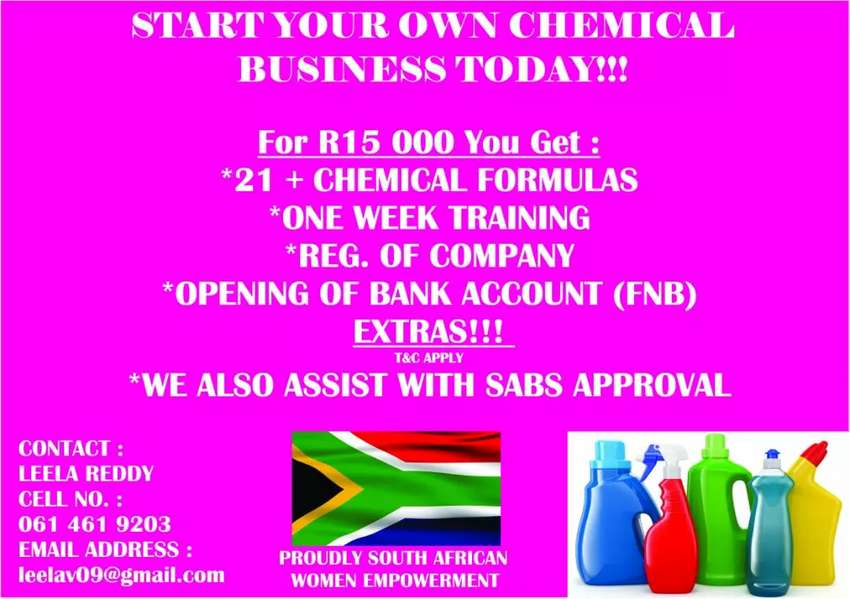 Start your own business for R15000 0