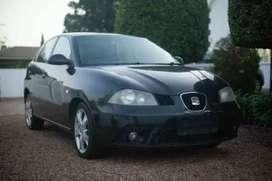 BLACK 1.6 SEAT IBIZA FOR SALE