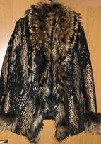 Куртка женская зимняя натуральная кожа