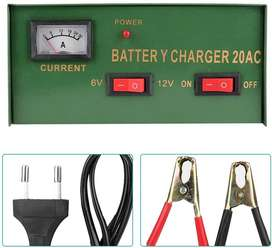 6 Volts and 12 Volts Battery Charger in One 20A Battery Charging Unit