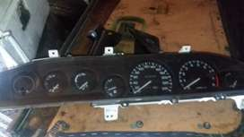 toyota twincam clock and electric panels