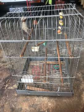 Bird cage for large tipe parrots
