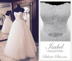 suknia ślubna Simona marki ISABEL