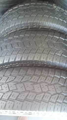 3 x245/75/17 toyo tyres for sale