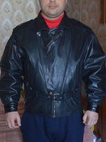 Куртка кожанная мужская GROWLразмер52для байкеров производства Туреция