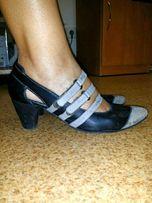 Туфли кожаные кожа натуральная 39р.