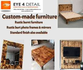 Custom made furniture and renovating of old furniture