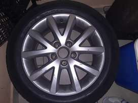 I'm selling my 16 inch rims with brand new tyres