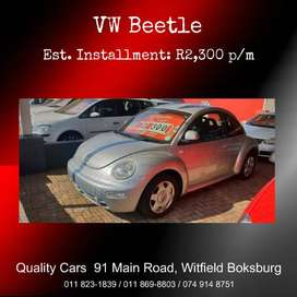 2002 VW Beetle 2.0 Highline