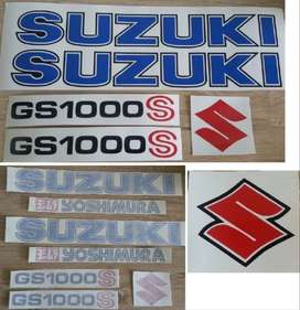 1979 Suzuki GS 1000 S decals / vinyl cut sticker kit