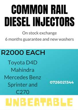 Diesel Injectors - reconditioning services