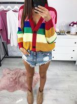 Słodkai. - Sweter Stripes PASKI Multikolor - No 1 - likwidacja sklepu