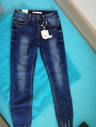 Spodnie jeansowe S