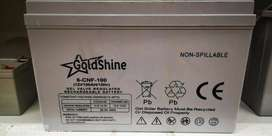 100AH GOLDSHINE GEL SOLAR BATTERY