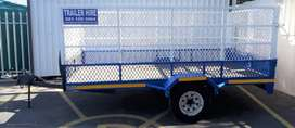 Trailer for Hire - Saayman Car and Bakkie Hire, Strand