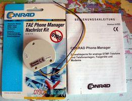 TAE Phone Manager, menedżer telefoniczny CONRAD