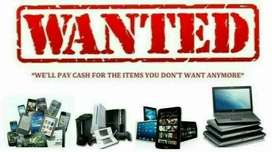 Fast cash paid for all your working and non working laptop and pcs