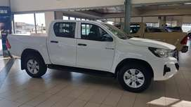 FREE SPEEDO CRUISE!  2019 Toyota Hilux DC 2.4 SRX Manual.